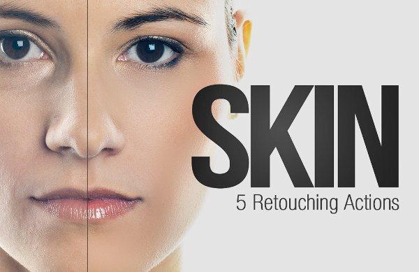 Skin - 5 Retouching Actions